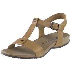 Sandały Nessi 41703 - Camelowe 11 - nowa wkładka