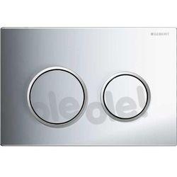 Delta50 Geberit przycisk uruchamiający przedni do spłuczek podtynkowych UP100 biały - 115.135.11.1