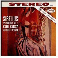 Pozostała muzyka rozrywkowa, MERCURY LIVEING PRESENCE: SIBELIUS SYMPH. 2 - Paray Paul (Płyta winylowa)