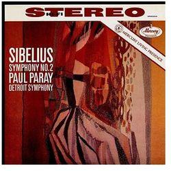 MERCURY LIVEING PRESENCE: SIBELIUS SYMPH. 2 - Paray Paul (Płyta winylowa)