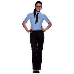 Bluzka damska z krótkim rękawem, rozmiar 50, jasnoniebieska | KARLOWSKY, Juli