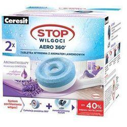 CERESIT 2szt Stop wilgoci Aero 360° Tabletki wymienne z aromatem lawendowym do pochłaniaczy wilgoci