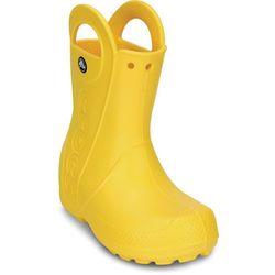 Crocs Handle It Buty przeciwdeszczowe Dzieci, żółty EU 24-25 2021 Kalosze
