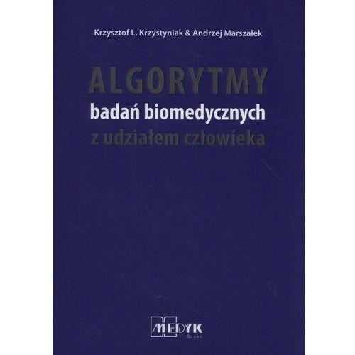 Książki medyczne, Algorytmy badań biomedycznych z udziałem człowieka (opr. miękka)