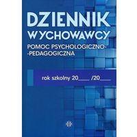 Pozostałe artykuły szkolne, Dziennik wychowawcy Pomoc psychologiczno-pedagogiczna