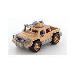Samochód pickup wojskowy Obrońca-Safari z 1 karabinem maszynowym