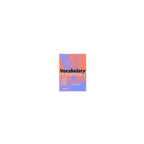 Książki do nauki języka, Vocabulary In Practice 2 Elementary (opr. miękka)