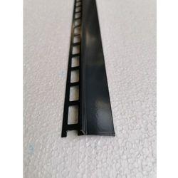 Profil aluminiowy balkonowy 44mm 2,5m - okapnik anodowany grafitowy RAL7016