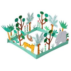 Mega kartka okolicznościowa 3D Meri Meri - Dżungla 159589