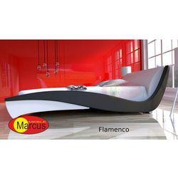 Zestaw łóżko FLAMENCO z materacem kieszeniowym Verona