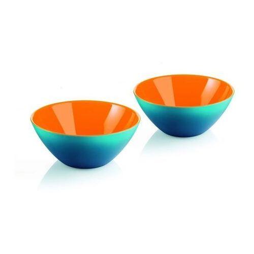 Pozostałe akcesoria i przyrządy kuchenne, Miseczki My Fusion 2 szt. pomarańczowo-niebieskie