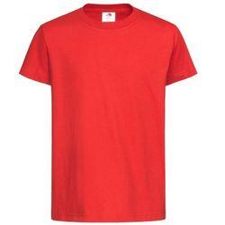 Czerwona dziecięca koszulka Stedman comfort junior (st2120) - red