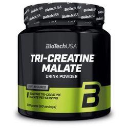 BioTech Tri Creatine Malate 300g smak naturalny