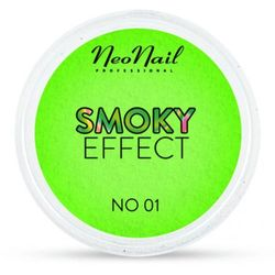 NeoNail SMOKY EFFECT Pyłek No 01 (zielony)