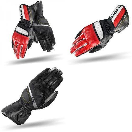 Rękawice motocyklowe, Rękawice Shima STX Czerwone