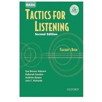 Pamiętniki, dzienniki, listy, Tactics for Listening: Basic Tactics for Listening: Teachers Book with Audio CD