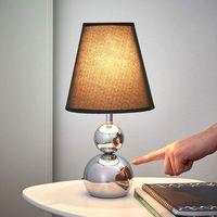 Lampy stołowe, Honsel Rügen lampa stołowa Chrom, 1-punktowy