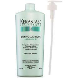 Kerastase Volumifique Bain - Kąpiel nadająca objętość włosom cienkim 1000ml + POMPKA W PREZENCIE!