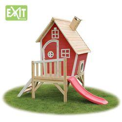 Domek cedrowy dla dzieci EXIT FANTASIA 300 /czerwony/