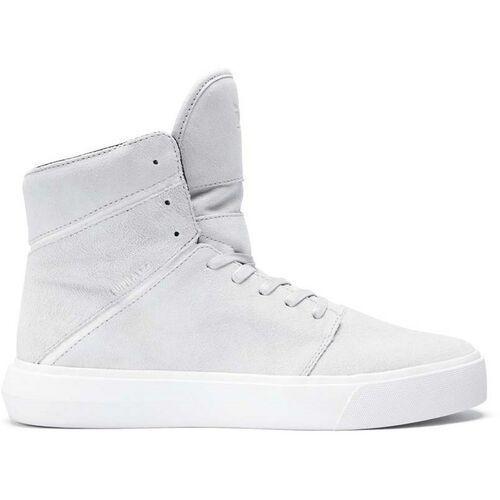 Obuwie sportowe dla mężczyzn, buty SUPRA - Camino Light Grey-Off White (LGY) rozmiar: 43