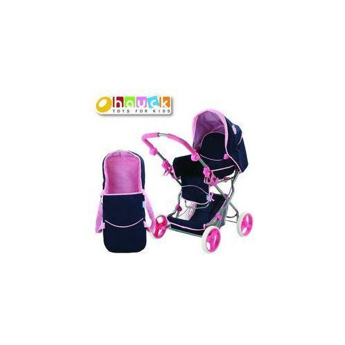 Wózki dla lalek, Wózek dla lalek Julia Classic Navy