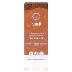 KHADI Ziołowa farba do włosów Złoty Brąz 100g - Złoty Brąz