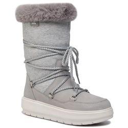 Śniegowce GEOX - D Kaula B Abx C D94AWC 032GH C1037 Lt Grey/Dk Grey
