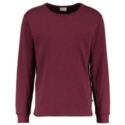 Knowledge Cotton Apparel DOUBLE LAYER Bluzka z długim rękawem tawny red