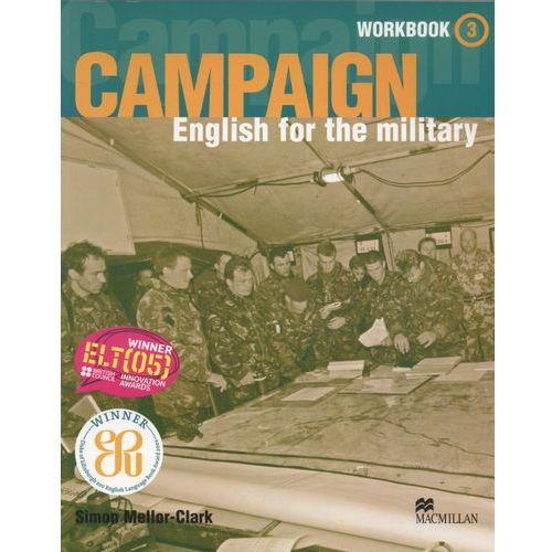 Książki do nauki języka, Campaign 3 Workbook (zeszyt ćwiczeń) & Audio CD Pack (opr. miękka)