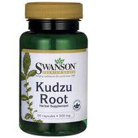 Preparaty ziołowe, Kudzu korzeń 500mg Kudzu Root 60 kapsułek SWANSON