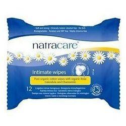 NATRACARE Chusteczki nawilżone do higieny intymnej 12szt.