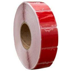 Taśma odblaskowa konturowa czerwona w segmentach - 1 metr