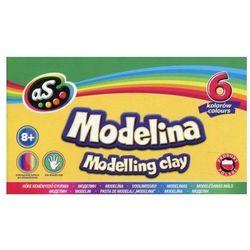 Modelina szkolna 6 kolorów AS