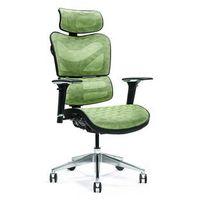 Fotele i krzesła biurowe, Ergonomiczny fotel biurowy ERGO 600 zielony