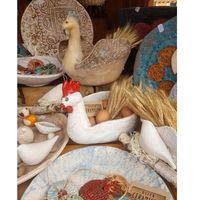 Pozostałe dekoracje, Ulica Ceramiczna - Kogut na jajka II