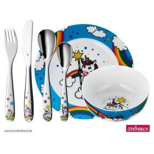 Sztućce dla dzieci, WMF - Jednorożec Disney Zestaw obiadowy dla dzieci