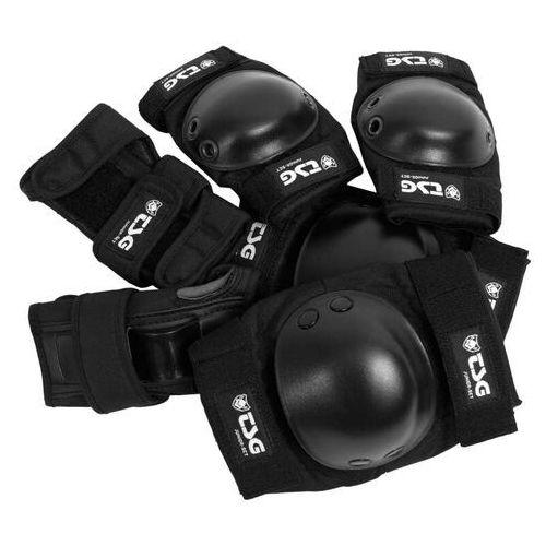 Ochraniacze na ciało, ochraniacze TSG - Junior-Set Black (102) rozmiar: OS