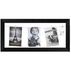 Galeria na zdjęcia 20 x 50 cm sznurkowa czarna