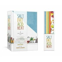 Salt, Fat, Acid, Heat Four-Notebook Set Nosrat, Samin