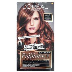 Recital Preference farba do włosów N4 Glam Bronde - L'Oreal Paris DARMOWA DOSTAWA KIOSK RUCHU