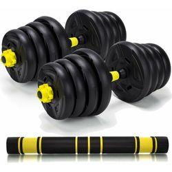 Hantle treningowe kompozytowe 2 x 15kg. HC-2.29-15