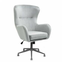 Tapicerowany fotel obrotowy YC-9118 Czarny