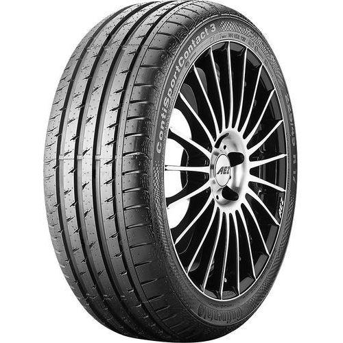 Opony letnie, Continental ContiSportContact 3 275/40 R19 101 W