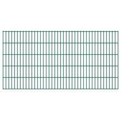 Panel ogrodzeniowy 2008x1030 mm, zielony