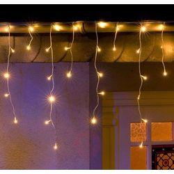 Szron zasłona świetlna LED 96-punktowa biel 3m