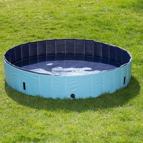 Baseny dla dzieci, Dog Pool Keep Cool basen dla psa - Ø x wys.: 80 x 20 cm (z pokrywą)| -5% Rabat dla nowych klientów| Dostawa GRATIS + promocje