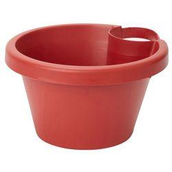Doniczka rynna Verve śr. 25 cm czerwona