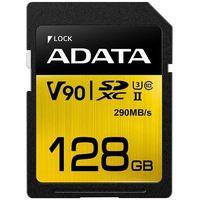 Karty pamięci, Adata SD Premier ONE 128G UHS 2/U3/CL10 290/260MB/s