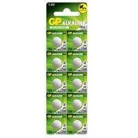 Baterie, 10 x bateria alkaliczna mini GP 186 / G12 / AG12 / L1142 / LR43 / V12GA / RW84 / D186