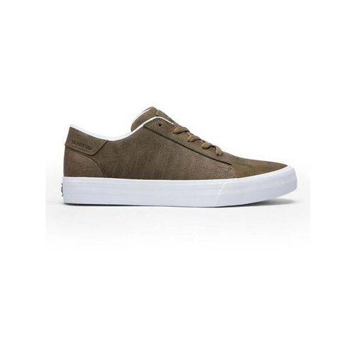 Męskie obuwie sportowe, buty SUPRA - Belmont Mocha-White (MOC)